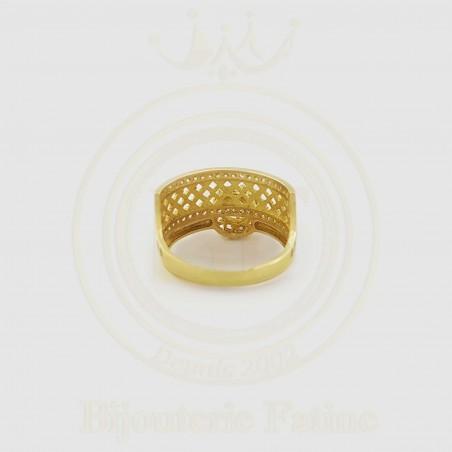 Alliance Solitaire trés magnifique en or 18 carats