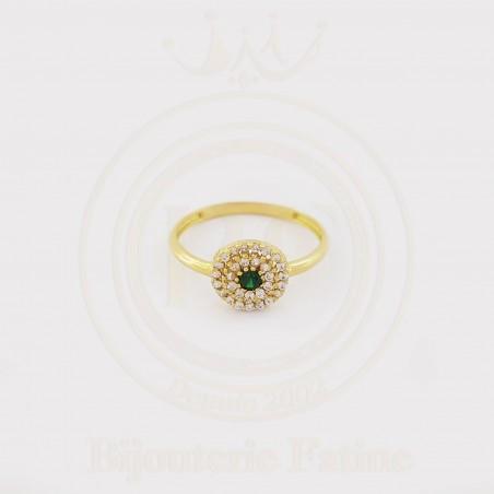 Bague de luxe en or 18 carats