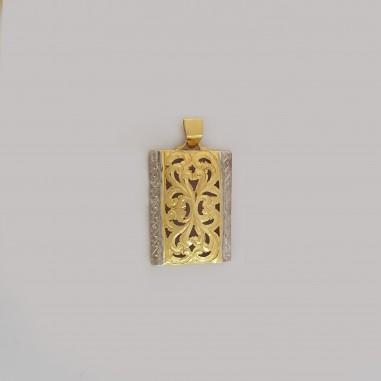 Pendentif  originale en or 18 carats