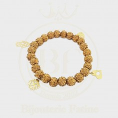 Swarovski avec khrichat en or 18 carats