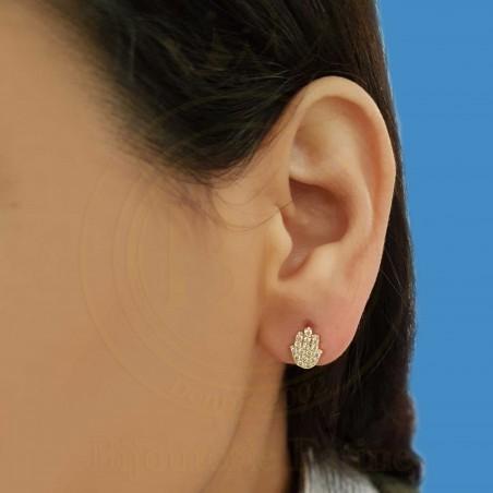 Boucles d'oreilles enfants 153 en Or 18 carats