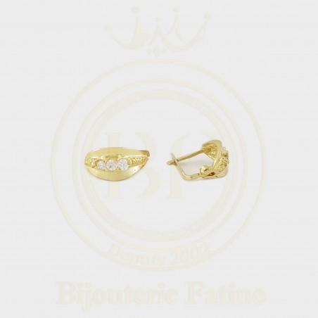 Boucles d'Oreilles d'Enfants en or 18 carats