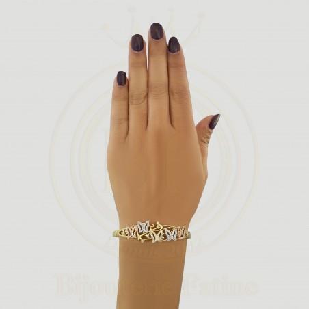 Parure chic et magnifique en or 18 carats