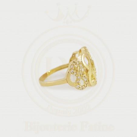 Bague 191 avec un design très attirant en or 18 carats