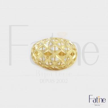 Bague Diamantine 969 En Or 18 Carats