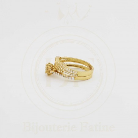 ALLIANCE SOLITAIRE 119 CHIC ET FASCINANT EN OR 18 CARATS
