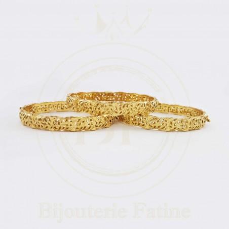 Sertla 299 en trois Bracelets avec un design très charmant en or 18 carats