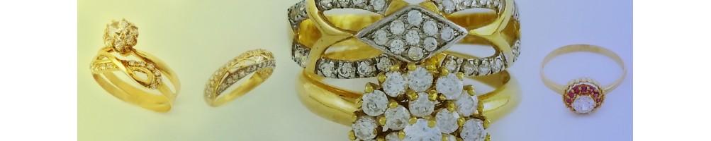 Collection Alliance et Solitaire en or 18 carats